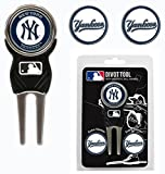 New York Yankees Golf Divot Tool with 3 Markers