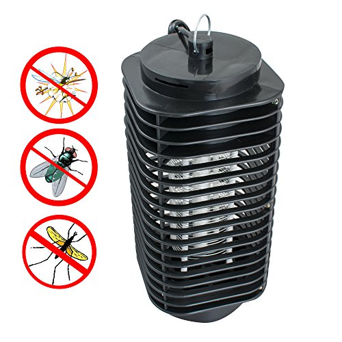 Mosquito Lamp Repellent (Enshey 110V Mosquito Zapper Lamp Mosquito Repellent Light + Mosquito Zapping Function Mosquito Killer Lamp Trap and Zap Fly Insects Small Eco-Friendly Mosquito Repellent LED Night Light)