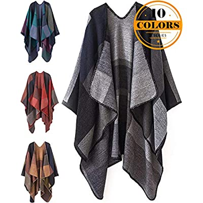 women-plaid-shawl-and-wrap-winter