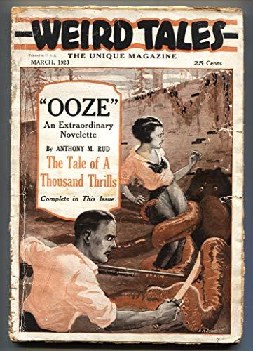 (Weird Tales #1 March 1923-Rare 1st issue-SUPER RARE-Pulp Magazine)