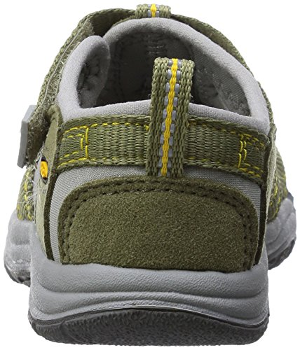 Keen Newport H2 Zapatillas de Senderismo, Unisex Niños Verde