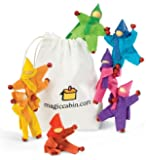 Take-Along Posable Pocket Dolls, Set of 8