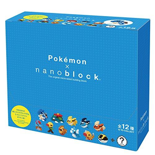 Nanoblock Mini Pocket Monster Series 03 12 pieces Set