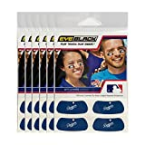 #10: (24 Strips) Los Angeles Dodgers MLB Eye Black Anti Glare Strips, Great for Fans & Athletes on Game Day
