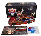 AUTOGRAPHED 2014 Dale Earnhardt Jr. #88 National Guard DAYTONA 500 WIN (Raced Version with Confetti) RARE VINTAGE FINISH Signed Lionel 1/24 NASCAR Diecast Car with COA (#305 of only 372 produced!)