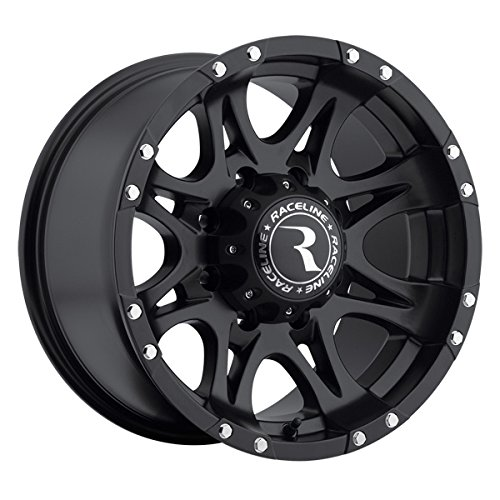 Raceline Raptor Black (16x8) +0 (8x6.5) for sale  Delivered anywhere in USA