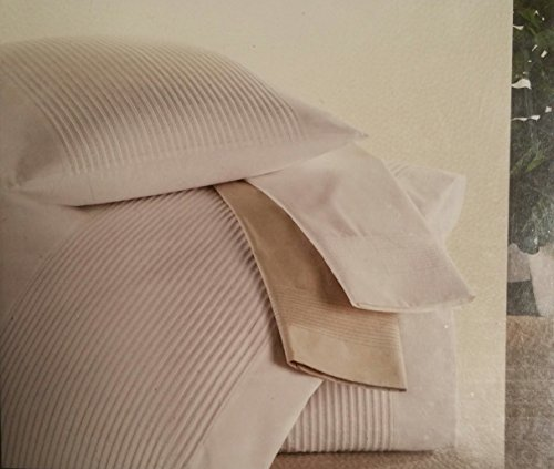 Barbara Barry Perfect Pleat Crisp White King Flat Sheet