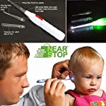 Nearstop™ LED Flashlight Earpick for Ear wax remover and cleaner, Ear cleaning tools for kids and adults (1)