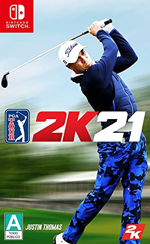 PGA TOUR 2K21 – Nintendo Switch Standard Edition