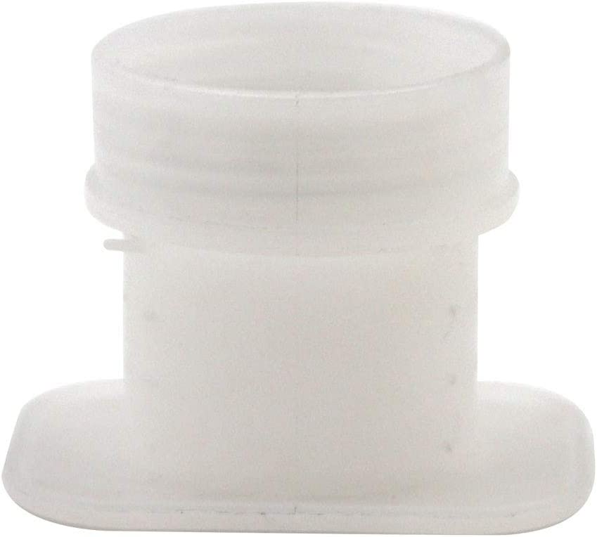 M.Z.A - Bol de plástico Cuadrado para Beber Colmena de Abejas, 5 Unidades, Blanco