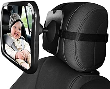 Seat Mirror Baby Car Back Rear View Safety Infant Ward Child Facing Mom