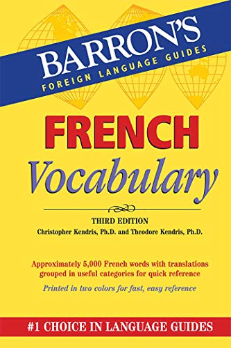 French Vocabulary (Barron's Vocabulary)