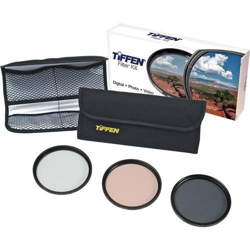Tiffen 28mm Digital Photo Video Essentials Lens Filter Kit