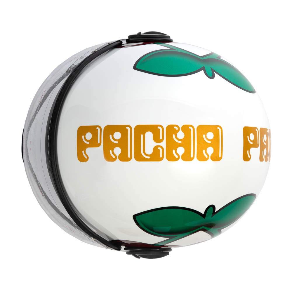 Pacha/ /Momo Ibiza casco da moto Ufficiale Logo ciliegie Unisex M bianco