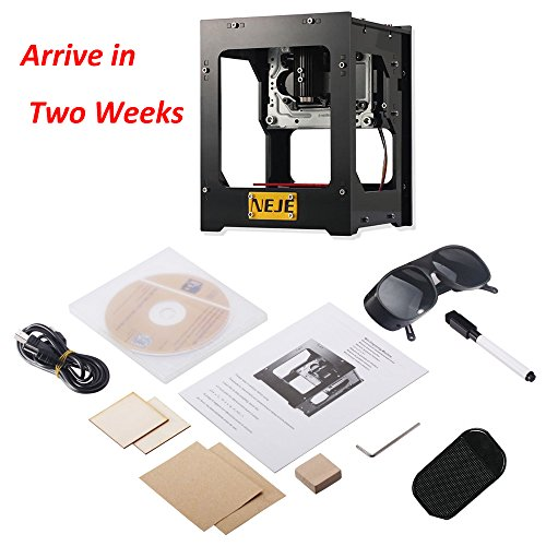 NEJE DK-BL 1500mW Laser Engraver 6000MAh Engraving Machine Mini DIY Phone Control Bluetooth 4.0 Offline Operation for Win XP / Win 7 / Win 8 / Win 10 / Andriod 4.0 and above / iOS 9.0 and above