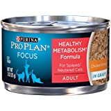 Purina Pro Plan Focus Healthy Metabolism Formula Canned Cat Food - 24-3 oz. Cans