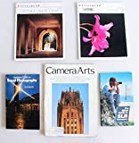 PHOTOGRAPHIC LITERATURE, LOT OF 5, MAGAZINE, BOOK AND BROCHURES