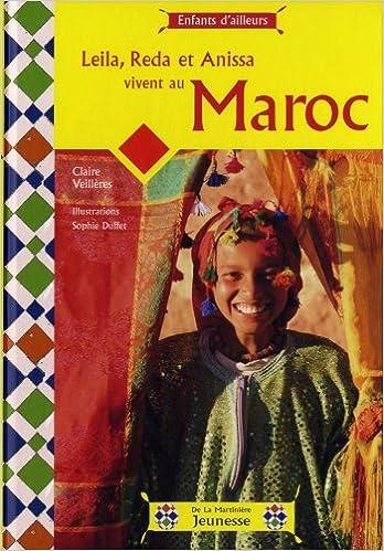 Livres gratuits en ligne Leila, Reda et Anissa vivent au Maroc epub, pdf