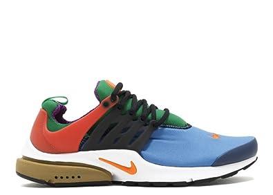 quality design b9339 4dba1 Nike Mens Air Presto QS Greedy Star Blue Orange Blaze Nylon Size 8