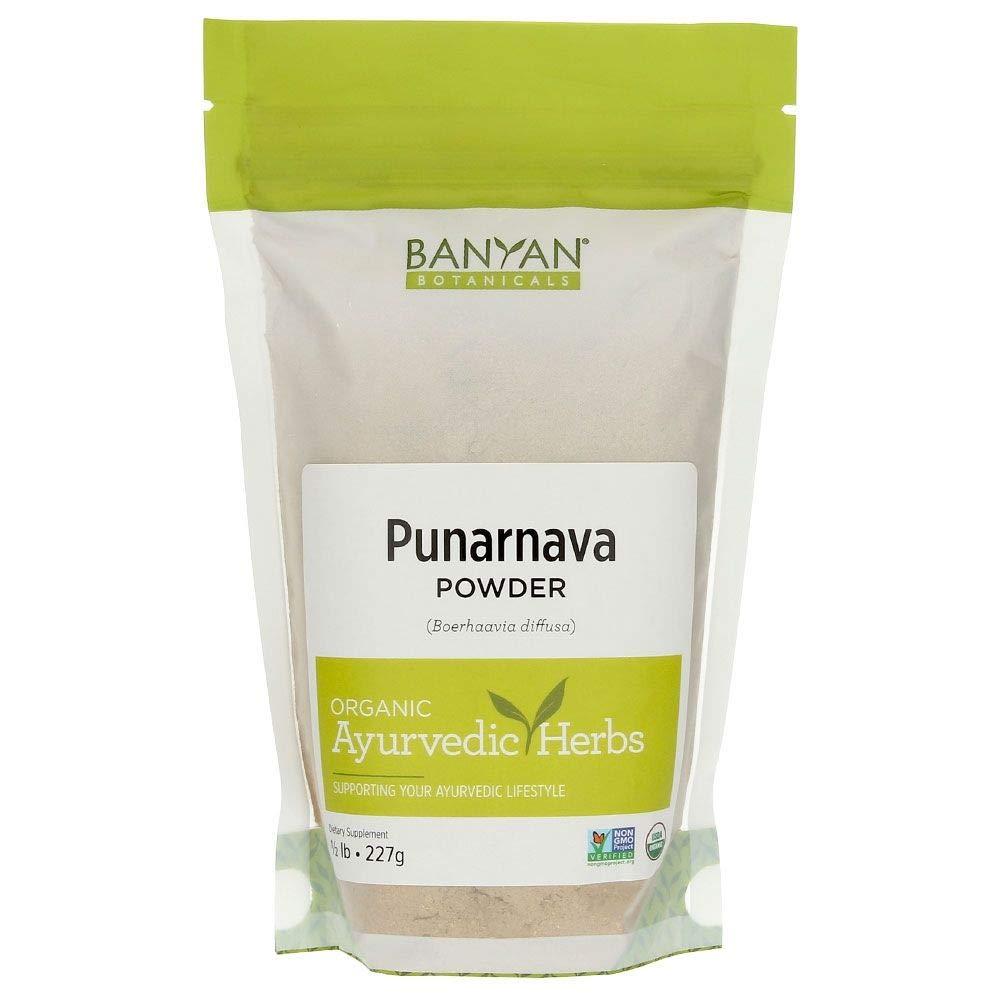 Banyan Botanicals Punarnava Powder - USDA Certified Organic, 1/2 lb - Boerhavia diffusa - Ayurvedic Herb for Heart, Liver, and Kidneys* by Banyan Botanicals