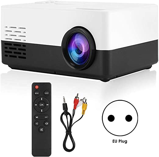 Neufday Proyector Multimedia HD, Mini proyector LED portátil HD ...