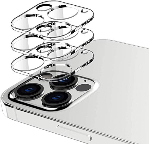 [3 Pack],Camera Lens Protector Compatible with iPhone 12 Pro Max 5G 6.7-inch, HD Clear Tempered Glass Back Camera…