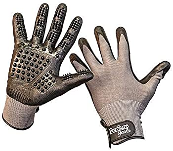 ForSure Goods Updated Design Pet Grooming Gloves