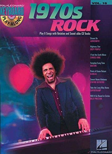 Keyboard Play Along Series - 1970s Rock: Keyboard Play-Along Volume 16 (Hal Leonard Keyboard Play-along)