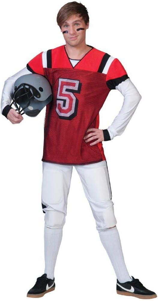 Disfraz de jugador de futbol americano adulto - Única: Amazon.es ...