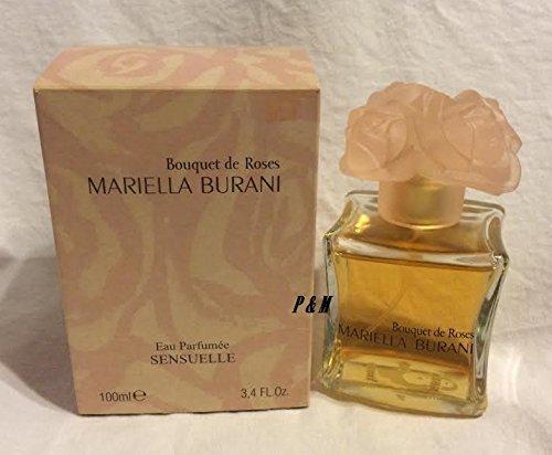 Bouquet De Roses Mariella Burani Eau Parfumee Sensuelle Women Spray 3.4 Fl.oz by Mariella Burani