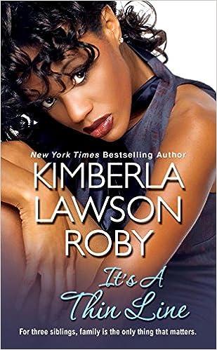 Amazon Its A Thin Line 9781617738166 Kimberla Lawson Roby