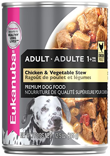 Cheap Eukanuba Wet Food 10154705 Adult Chicken & Vegetable Stew Canned Dog Food (Case Of 12), 12.5 Oz