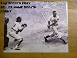Larry Doby Indians 1St Black In Al Autographed Signature 16x20 1St At Bat Limited 47 Steiner