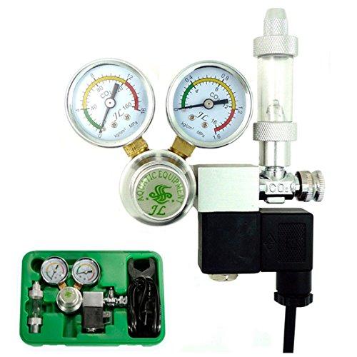Co2 Equipment Regulator Magnetic Solenoid Two Gauge Bubble Counter DICI Planted Aquarium