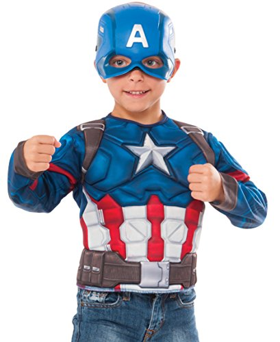 Marvel Captain America: Civil War Captain America Muscle - America Captain Costume Easy