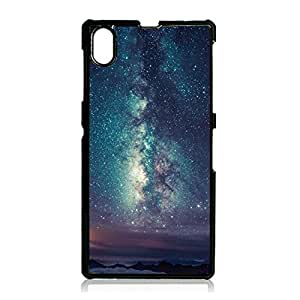 sony?xperia?Z1 Phone Case for Men Star Sky Mobile Phone Case Hard Plastic Distinctive Design Case Cover with Star Sky Series