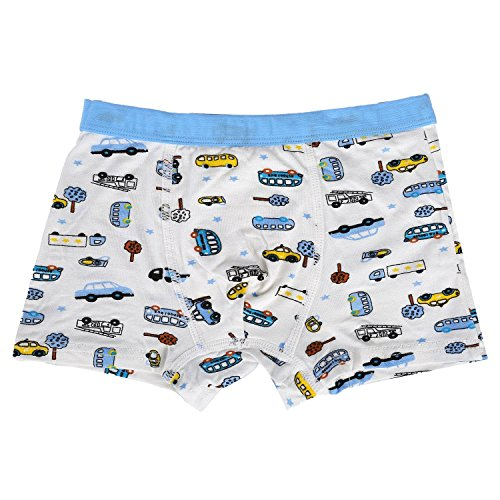 Bala Bala Boy's Boxer Brief Multicolor Underwear (Pack Of 5) (XL/Car Underwear, (Pack Of 5)/Car Underwear) by Bala Bala (Image #3)'