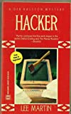 Front cover for the book Hacker by Lee Martin