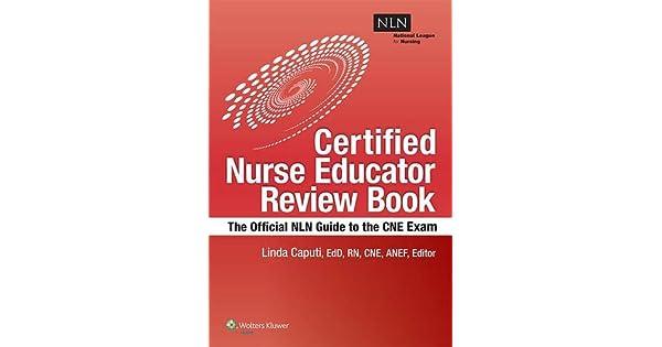 Amazon.com: NLNs Certified Nurse Educator Review: The ...