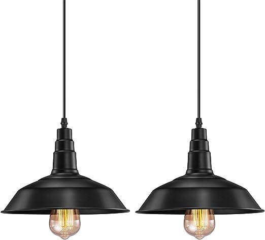 Amazon.com: FadimiKoo - Lámpara de techo colgante industrial ...