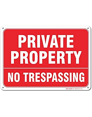 Private Road Residents Only Aluminum Metal Sign