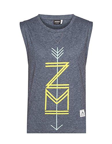 Zimtstern–Camiseta de mujer zmona Azul - antracita