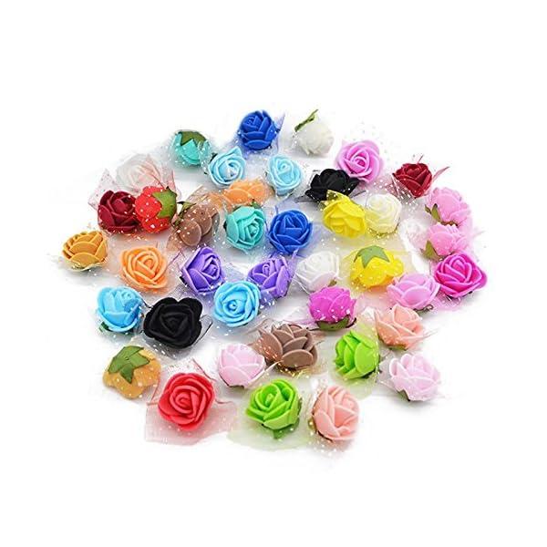 YONGSNOW-200Pcslot-2cm-Mini-PE-Foam-Rose-Artificial-Silk-Flower-Heads-for-DIY-Wreath-Wedding-Decoration