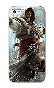 Iphone High Quality Tpu Case/ Assassin's Creed Iv Black Flag Case Cover For Iphone 5c 6278432K39604439