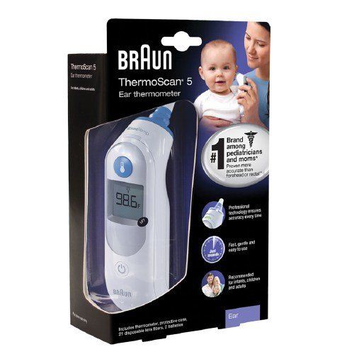 Braun IRT 6500 ThermoScan Ear Thermometer by Braun