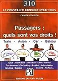 """Afficher """"Passagers, quels sont vos droits ?"""""""