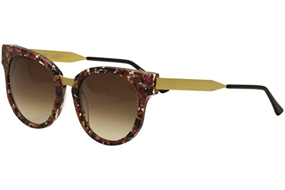 4869577e0ef Image Unavailable. Image not available for. Color  Thierry Lasry Affinity  V207 Floral Pink Multi Matte Gold Cat Eye Sunglasses 54mm