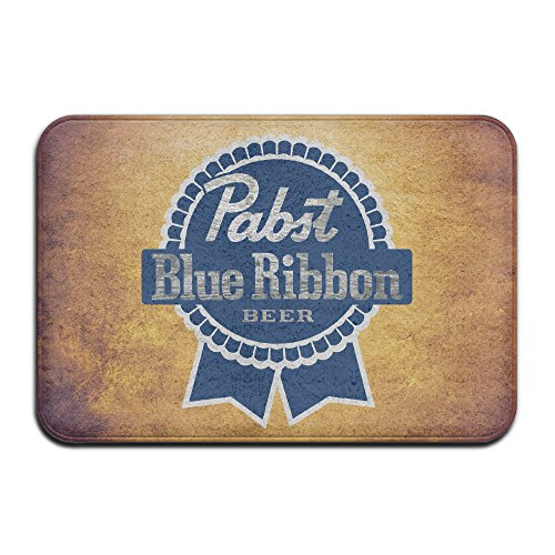 personalized-indoor-or-outdoor-doormat-pabst-blue-ribbon-kitchen-doormat-bath-mat-non-slip-and-thin-
