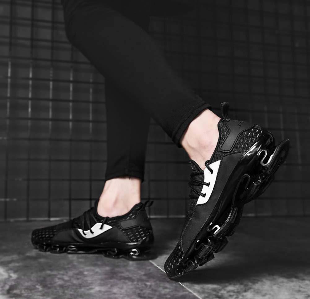 GLSHI Hombres Respirable Corriendo Zapatos 2018 Otoño Otoño Otoño Nuevo Baloncesto Zapatillas Ligero Entrenadores (Color : Negro, tamaño : 41 EU) 54c3ac