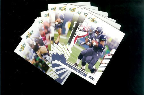 Seattle Seahawks Football Cards - 3 Years of Score Complete Team Sets 2006,2007, 2008 - Includes Stars, Rookies & More - Individually Packaged!